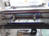 Automatisches Gewebe-Hochgeschwindigkeitsrollenaufschlitzende Maschine