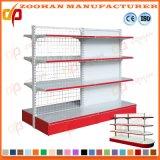 Metallsystem-Speicher-Supermarkt-Waren-Bildschirmanzeige-Maschendraht-Regal (Zhs145)