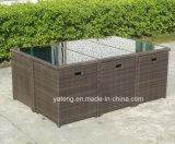 Im Freien Möbel-Pool-Seiten-Gaststätte-Stuhl und Tisch durch 4-10person (YT275) für Garten