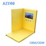 OEM TFT LCD 스크린 영상 명함을 인쇄하는 가득 차있는 UV 색깔