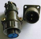 Connecteurs circulaires de coût bon marché de P20-2 Pôle