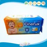 中国のVenezvelaのための使い捨て可能な赤ん坊のおむつ