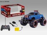 Cuatro Función R / C Toys coche con la rueda grande para la Infancia