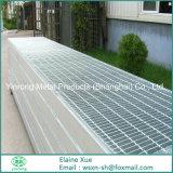 Rejilla de la barra de metal galvanizado para piso de la estructura de acero