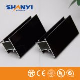 Profil en aluminium d'enduit de bronze de profil électrophorétique de guichet en aluminium de bâti solaire de pièce de Windows de portes
