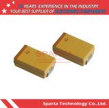 Taja106K016rnj 16V 1206 Standard y condensadores de tántalo de bajo perfil
