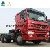 판매를 위한 Sinotruk HOWO 336 HP 6X4 새로운 Trator 트럭
