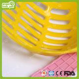 Colorized 플라스틱 고양이 배설용상자 삽 애완 동물 제품 (HN-PG400)