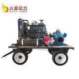 70kw 양쪽 흡입 Centriffugal 펌프 95HP 디젤 엔진 수도 펌프 고정되는 Mc10sh-9
