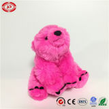 Dark Pink Cute Teddy Fluffy Farcies Soft Polar Bear Toy