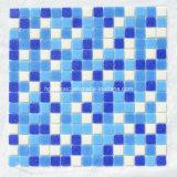 Mosaic Tiles Blue Mosaico de vidro para piscina Material de construção