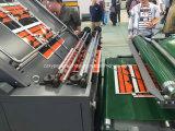 Le carton ondulé de décisions de la flûte de dépression de plastification à froid de la machine de plastification