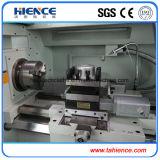 Preço automático Ck6136A-2 do torno do CNC do metal do mandril de três maxilas