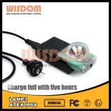 Im Freien nachladbare LED-Bergbau-Mützenlampe/Scheinwerfer