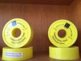 Nastro del Teflon del nastro della guarnizione del filetto del nastro adesivo PTFE di 100% PTFE per il tubo di gas