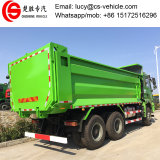 Sintruk HOWO 371HP 30tons 쓰레기꾼 덤프 트럭 팁 주는 사람 트럭