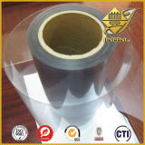 소성 물질의 롤에 있는 명확한 PVC 필름