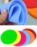 Venta al por mayor seis colores irrompible de silicona Pet Frisbee