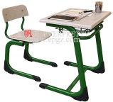 Mesa e cadeira ajustáveis quentes do estudante da mobília de escola da venda