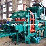 Automatischer Laden-Maschinen-Block des Ziegelstein-Qt4-20, der Maschine-Einzelne Zeile Produktion bildet