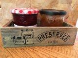 Brun naturel Covent Garden vintage de stockage en bois d'affichage Zone de la Caisse d'Apple