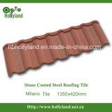 Hoja revestida de piedra del material para techos del metal (Milano)
