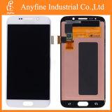 SamsungギャラクシーS6端G925 G925f G925Aのための白いLCDのタッチ画面の計数化装置