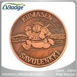 Pièces de monnaie faites sur commande d'enjeu en métal de souvenir