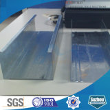 Canal de acero galvanizado U / Drywall C
