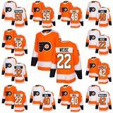 2018 nuova vallata Weise 32 Leland Irving della signora Youth Philadelphia Flyers 22 degli uomini di marca 42 pullover su ordinazione del hokey del Friedman Robert Hagg del contrassegno del Weal di Bardreau Giordano del Cole