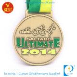 Het Stempelen van het Koper van de douane de In het groot Medaille van de Toekenning van Triathlon van de Sport