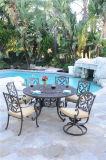 Jogo ajustado da tabela do BBQ do jardim ao ar livre da mobília do alumínio de molde