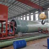Tubo di acqua di irrigazione goccia a goccia di FRP che fa la macchina di bobina del filamento di CNC della macchina