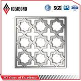 Painel composto de alumínio cinzelado CNC elegante