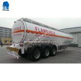 De Aanhangwagen van de Tanker van de Brandstof van het Roestvrij staal 60000liters van de tri-As van de Smeerolie