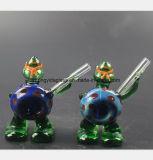 De blauwe Waterpijp van het Glas van de Modellering van de Schildpad van de God van de God van de Tabak van de Filter