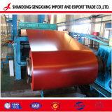 PPGI / PPGL prépeint bobine galvanisé en acier recouvert de couleur
