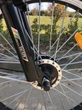 Bicicletta elettrica della batteria di litio della lunga autonomia