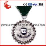 Médaille commémorative de lanière de type de bâti de bronze antique de placage