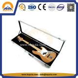 Schwarzer Aluminiuminstrument-Kasten-Gitarren-/Violinen-Flug-Kasten mit Griff (HT-5215)