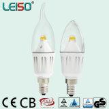 2200K 98ra 4W C35 LED Kerze-Birne für Chanderlier Beleuchtung