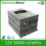 paquete de la batería de litio de 12V 200ah LiFePO4 para la Sistema Solar