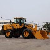 5 ton 3 de Lader van het Wiel van de Capaciteit van de Emmer van de Kubus met Motor Weichai