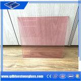 6.38mm rosafarbenes farbiges lamelliertes Glas