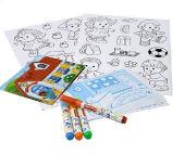 주문 만화 삽화 색칠 책
