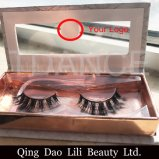 Silk Eyelashes 3D Eye Flat Lash Extensions Private Label Mega Volume Fan Mink Lashes