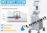 Levage de peau de face de machine de Hifu Ultherapy