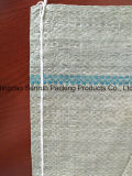 Sac tissé par pp gris réutilisé pour l'emballage d'affranchissement