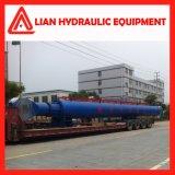 Tipo personalizado cilindro hidráulico do pistão do desengate reto para o projeto da tutela da água
