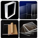 2.5mm 3mm het 4mm Transparante AcrylBlad van het Blad van het Plexiglas van het Kristal